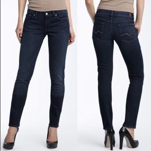 7 For All Mankind Roxanne Classic Skinny Jeans